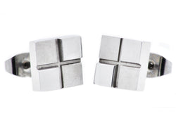Mens Stainless Steel Earrings