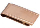 Mens Chocolate Plated Stainless Steel Money Clip