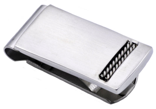 Mens Stainless Steel Money Clip