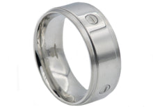 Load image into Gallery viewer, Mens Stainless Steel Band - Blackjack Jewelry