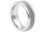 Mens Stainless Steel Ring