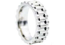 Load image into Gallery viewer, Mens Stainless Steel Band Ring - Blackjack Jewelry