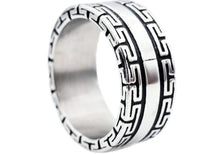 Load image into Gallery viewer, Mens Stainless Steel Ring - Blackjack Jewelry