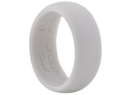 Mens Sports Gray Silicone Band