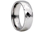 Mens Tungsten Band Ring