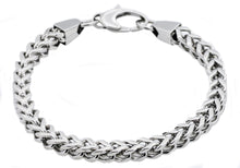 Load image into Gallery viewer, Mens Stainless Steel Franco Link Chain Bracelet - Blackjack Jewelry