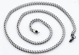 Copy of Mens 4mm Stainless Steel Franco Link Chain Necklace