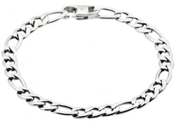 Mens Stainless Steel Link Chain Bracelet