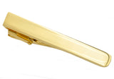 Mens Gold Plated Stainless Steel Tie Clip