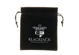 Mens Black Plated Stainless Steel Band - Blackjack Jewelry