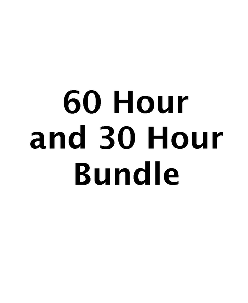 60 Hour & 30 Hour Bundle