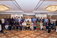 Group photo FRCR course