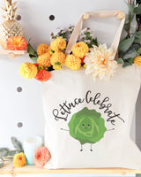Lettuce Celebrate Cotton Canvas Tote Bag - The Cotton and Canvas Co.