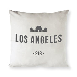 Los Angeles Pillow Cover - The Cotton and Canvas Co.