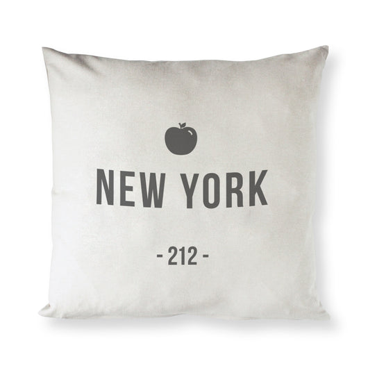 New York Pillow Cover - The Cotton and Canvas Co.