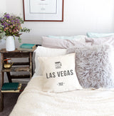 Las Vegas Pillow Cover - The Cotton and Canvas Co.