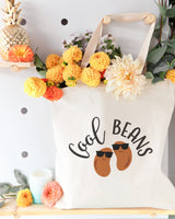 Cool Beans Cotton Canvas Tote Bag - The Cotton and Canvas Co.