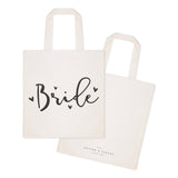 Bride Wedding Cotton Canvas Tote Bag - The Cotton and Canvas Co.