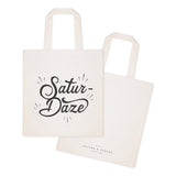 Saturdaze Weekend Cotton Canvas Tote Bag - The Cotton and Canvas Co.