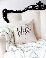 Nice Christmas Holiday Pillow Cover