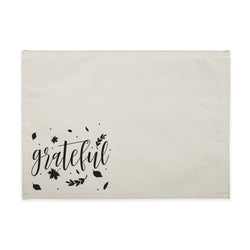 Grateful Cotton Canvas Place Mat - The Cotton and Canvas Co.