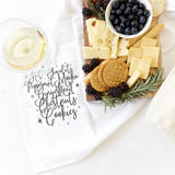 Christmas Favorites Kitchen Tea Towel - The Cotton and Canvas Co.