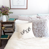 XOXO Pillow Cover - The Cotton and Canvas Co.