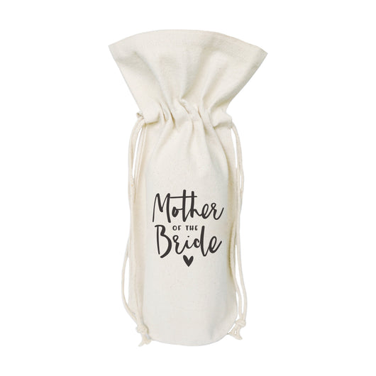 Mother of the Bride Canvas Wine Bag - The Cotton and Canvas Co.