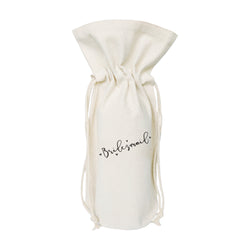 Bridesmaid Cotton Canvas Wine Bag - The Cotton and Canvas Co.