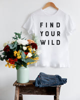 Find Your Wild Women's Graphic Tee - The Cotton and Canvas Co.
