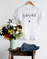 Bridesmaid Tee - The Cotton and Canvas Co.