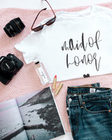 Maid of Honor Tee - The Cotton and Canvas Co.