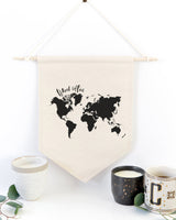 Travel Often Hanging Wall Banner - The Cotton and Canvas Co.