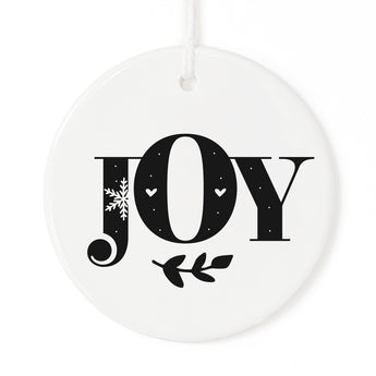 Joy Christmas Ornament - The Cotton and Canvas Co.