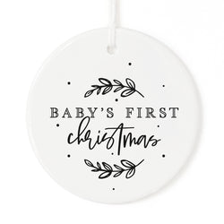 Baby's First Christmas Ornament - The Cotton and Canvas Co.