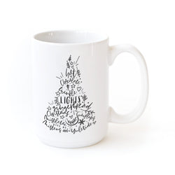Christmas Favorites Coffee Mug - The Cotton and Canvas Co.