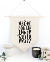 Alphabet Hanging Wall Banner - The Cotton and Canvas Co.