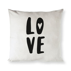 Love Baby Cotton Canvas Pillow Cover - The Cotton and Canvas Co.