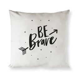 Be Brave Baby Cotton Canvas Pillow Cover - The Cotton and Canvas Co.