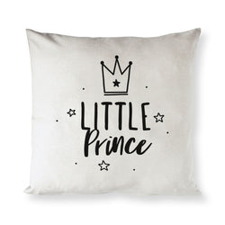Little Prince Baby Cotton Canvas Pillow Cover - The Cotton and Canvas Co.