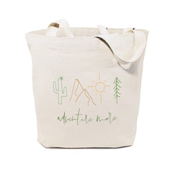 Adventure More Cotton Canvas Tote Bag - The Cotton and Canvas Co.