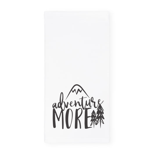 Adventure More Kitchen Tea Towel - The Cotton and Canvas Co.