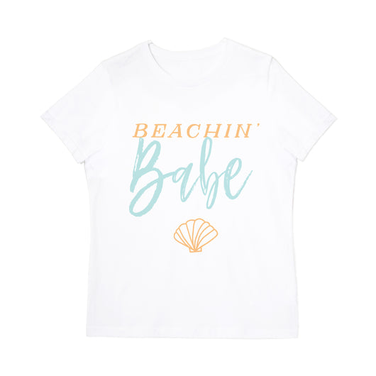 Beachin' Babe Tee - The Cotton and Canvas Co.