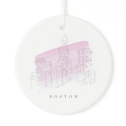 Boston Christmas Ornament - The Cotton and Canvas Co.