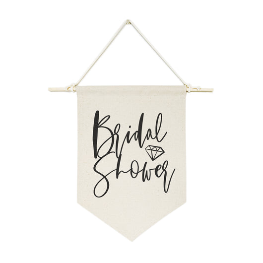 Bridal Shower Hanging Wall Banner - The Cotton and Canvas Co.