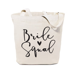 Cotton Canvas Bride Squad Wedding Tote Bag - The Cotton and Canvas Co.