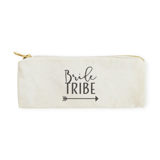 Bride Tribe Cotton Canvas Pencil Case and Travel Pouch - The Cotton and Canvas Co.