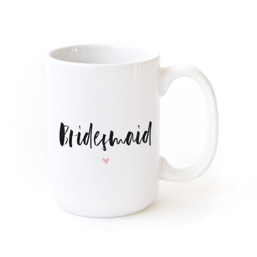 Bridesmaid Coffee Mug - The Cotton and Canvas Co.