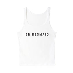 Modern Bridesmaid Tank - The Cotton and Canvas Co.