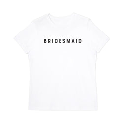Modern Bridesmaid Tee - The Cotton and Canvas Co.